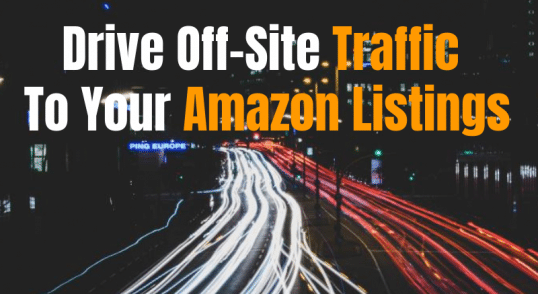 Generate Amazon sales traffic